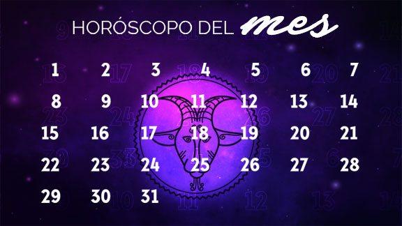 Horóscopo Capricornio mensual- capricorniohoroscopo.com