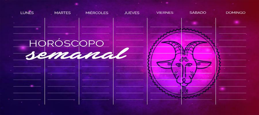 Horóscopo Capricornio Semanal – Horóscopo de la semana Capricornio